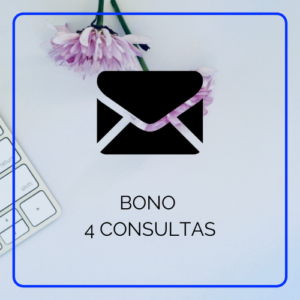 Bono de 4 consultas por email