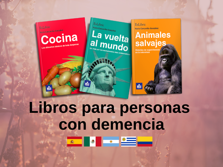Libros para personas con demencia españa latinoamerica